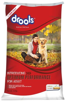 Drools Optimum Performance Adult Dog Food 10 kg