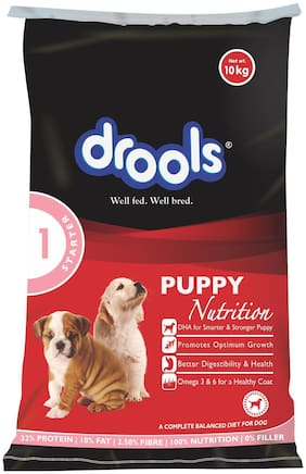 Drools Puppy Starter Dry Dog Food, 10 kg