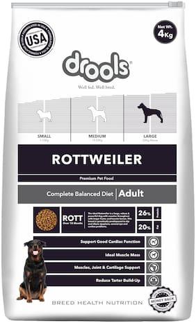 Drools Rottweiler Adult dry dog food 4kg