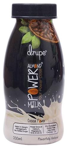 Drupe  Milk - Almond  Cocoa 200 ml