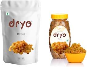Dryo Natural Combo Pack of Raisin 500g & Raisin 250g Pack of 2