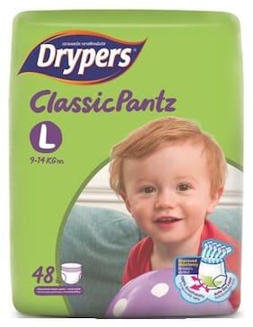 Drypers Classicpantz Large Sized Pant Style Diaper (48 Counts)