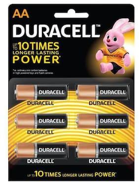 Duracell Alkaline Battery - Aa 6 pcs