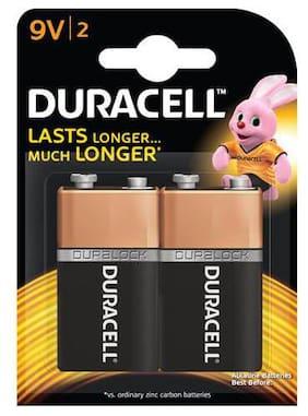 Duracell Alkaline Battery - 9V  Duralock Technology 2 pcs