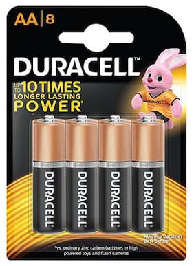 Duracell Battery Aa 10X More Power 8 pcs
