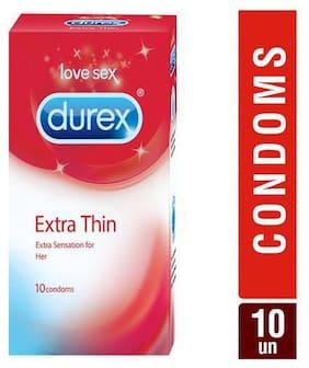 Durex Condoms - Extra Thin 10 pcs