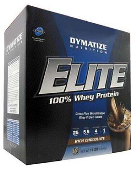Dymatize Elite Whey 4.53 kg (10 lb) Chocolate