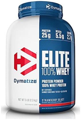 Dymatize Elite 100% Whey Protein 2.3 kg (5 lb)- Strawberry Blast