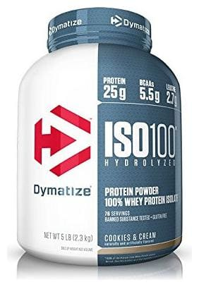 Dymatize ISO 100% Whey Protein Isolate 2.26 kg (5 lb) Cookies & Cream