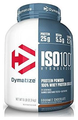 Dymatize Nutrition Iso 100 Whey Isolate Protein Chocolate 2.26 kg (5 lb)
