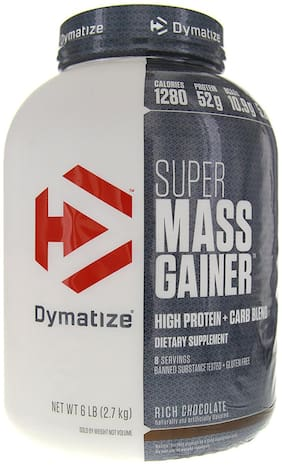 Dymatize Super Mass Gainer 2.72 kg (6 lb) Rich Chocolate