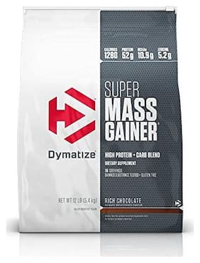 Dymatize Super Mass Gainer 5.44 kg (12 lb) Rich Chocolate
