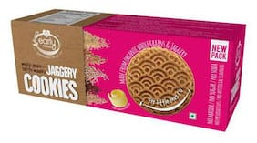 Early Foods Organic - Multi-Grain/Sattu Mavu Jaggery Cookies 150 gm