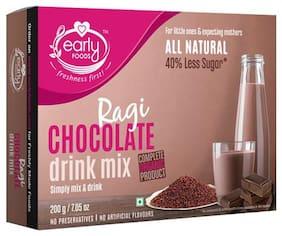 Early Foods Organic - Ragi & Chocolate Health Drink Mix, For Kids 200 g