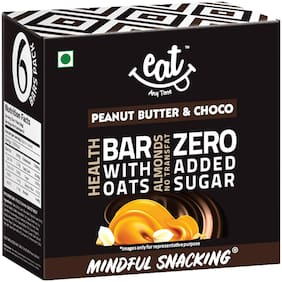 Eat Anytime Nutrition Energy Bars - Peanut Butter With Chocolate 228g