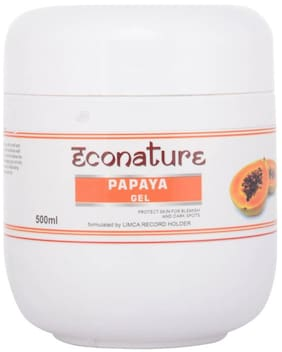 Econature Papaya Gel 500 gm