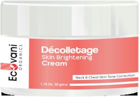 ECOVANI Organics De colletage Skin Brightening Cream 50 g