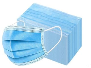 Disposable 3ply Non Woven Surgical Mask (Pack of 50)