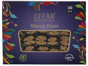 EFFAR DATES & DRY FRUITS Walnut Dates 350g