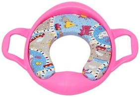 Ehomekart Cushioned Toilet Training Potty Seat with Handles-Pink