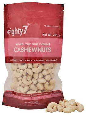 Eighty7 Cashewnuts 250 G 1Pc