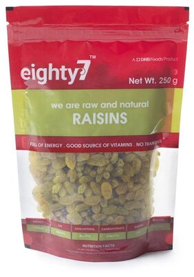 Eighty7 Raisins 250G