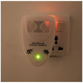 Electronic Ultrasonic Pest Repeller Mosquito Ants Spiders Roaches Repelling 100V-240V Non-toxic