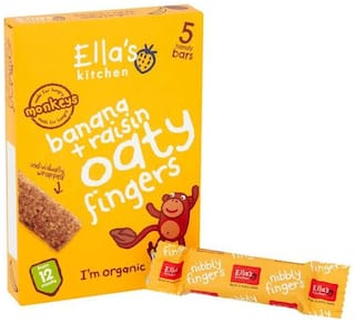 Ellas Kitchen Bananas + Raisins Oaty Fingers - 125g