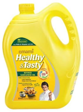 Emami Healthy & Tasty - Refined Sunflower Oil 5 L