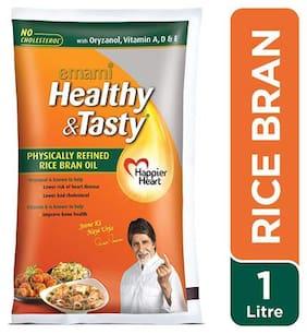 Emami Healthy & Tasty - Rice Bran Oil 1 ltr