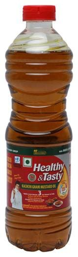 Emami Healthy & Tasty - Kachchi Ghani Mustard Oil 1 Ltr