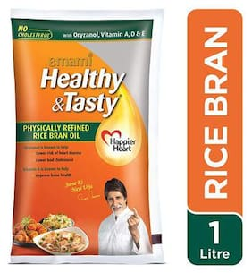 Emami Healthy & Tasty - Rice Bran Oil 1 L