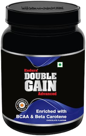 Endura Double Gainer Advanced 1 kg Chocolate Mass Gainer