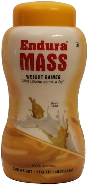 Endura Mass Weight Gainer 1 kg  Banana