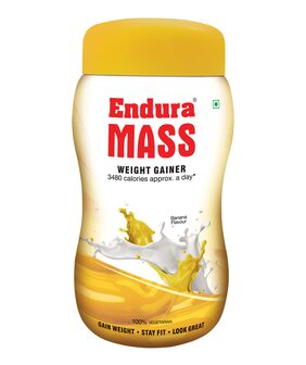 Endura Mass 500 gm Banana