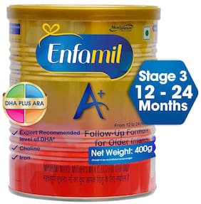 Enfamil A+ Stage3 Follow up Formula (12 to 24 months) 400g