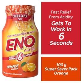 Eno Fruit Salt Orange Flavor 100 g