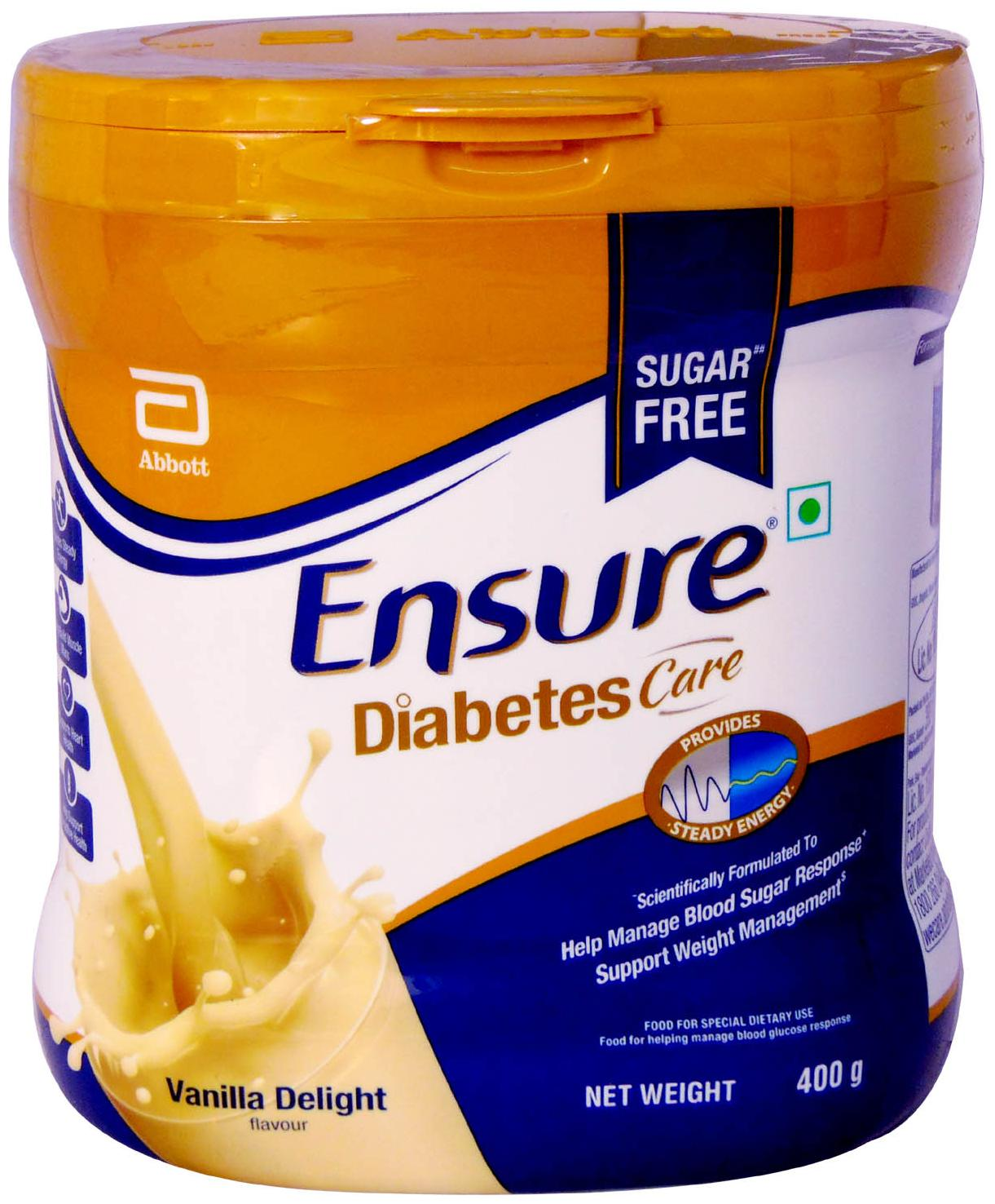 Buy Ensure Diabetes Care Vanilla 400 g Jar Online at Low Prices in India -  Paytmmall.com
