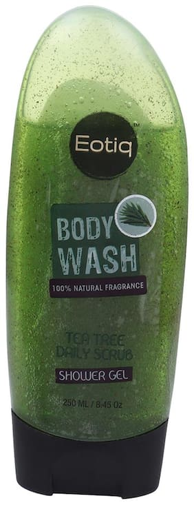 EOTIQ Tea Tree Daily Scrub Body Wash 250 ml