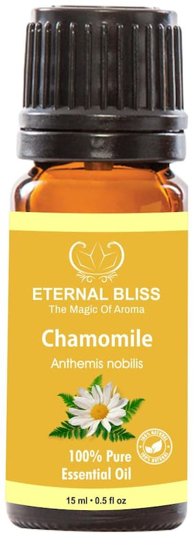 Eternal Bliss Chamomile Essential Oil - Pure Natural & Undiluted For Skin Care & Hair Care(15 ml)
