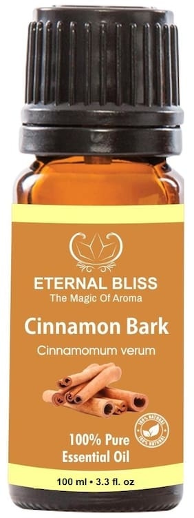 Eternal Bliss Cinnamon Bark Essential Oil, 100% Pure, & Undiluted (100ML)
