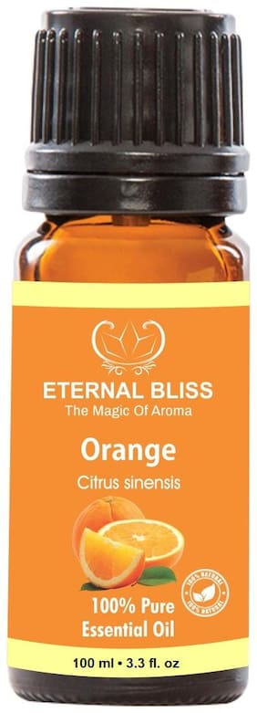Eternal Bliss Orange Essential Oil , 100% Pure, & Undiluted (100 ml)