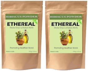 Ethereal Hibiscus Powder (Jamaica Powder) 100g (Pack of 2)