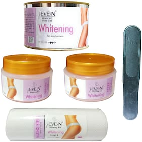 EVE-N Waxing Kit Personal Whitening ( Wt: 120ml + 350g )