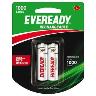 Eveready Rechargeable AA Battery BP2 700 Nimh 2 pcs