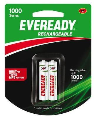 Eveready Rechargeable AAA Battery BP2 600 Nimh 2 pcs