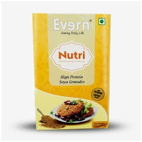 Everin Nutri High Protein and Healthy Soya Granules Combo 200g (Pack of 6)