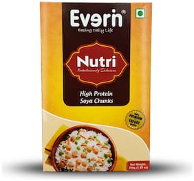 Everin Nutri High Protein and Healthy Soya Chunks Combo 200g (Pack of 10)