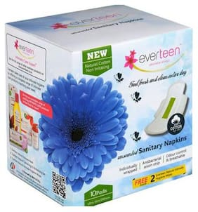 Everteen Natural Cotton Sanitary Napkin 10 pcs