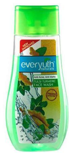 Everyuth Naturals Anti Acne Anti Marks Tulsi Turmeric Face Wash 100 gm